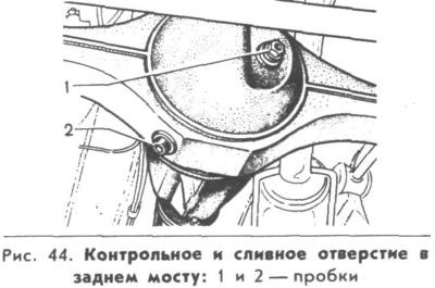 0053 - Техобслуживание трансмиссии ваз 2107