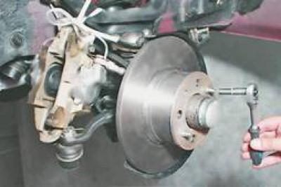 Тормозной механизм переднего колеса ваз 2107