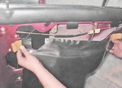 Замена стекла передней двери ваз 2107