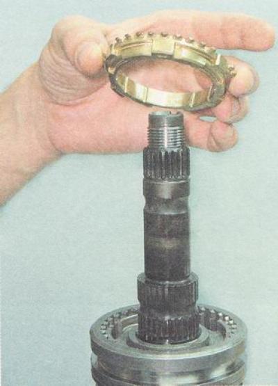 Схема вторичного вала кпп ваз 2110