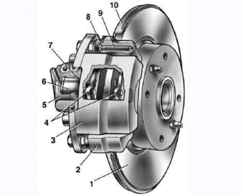 2493 - Тормозная система ваз 2114 схема фото