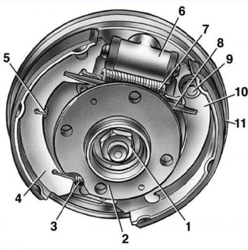2494 - Тормозная система ваз 2114 схема фото