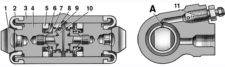 2495 - Тормозная система ваз 2114 схема фото