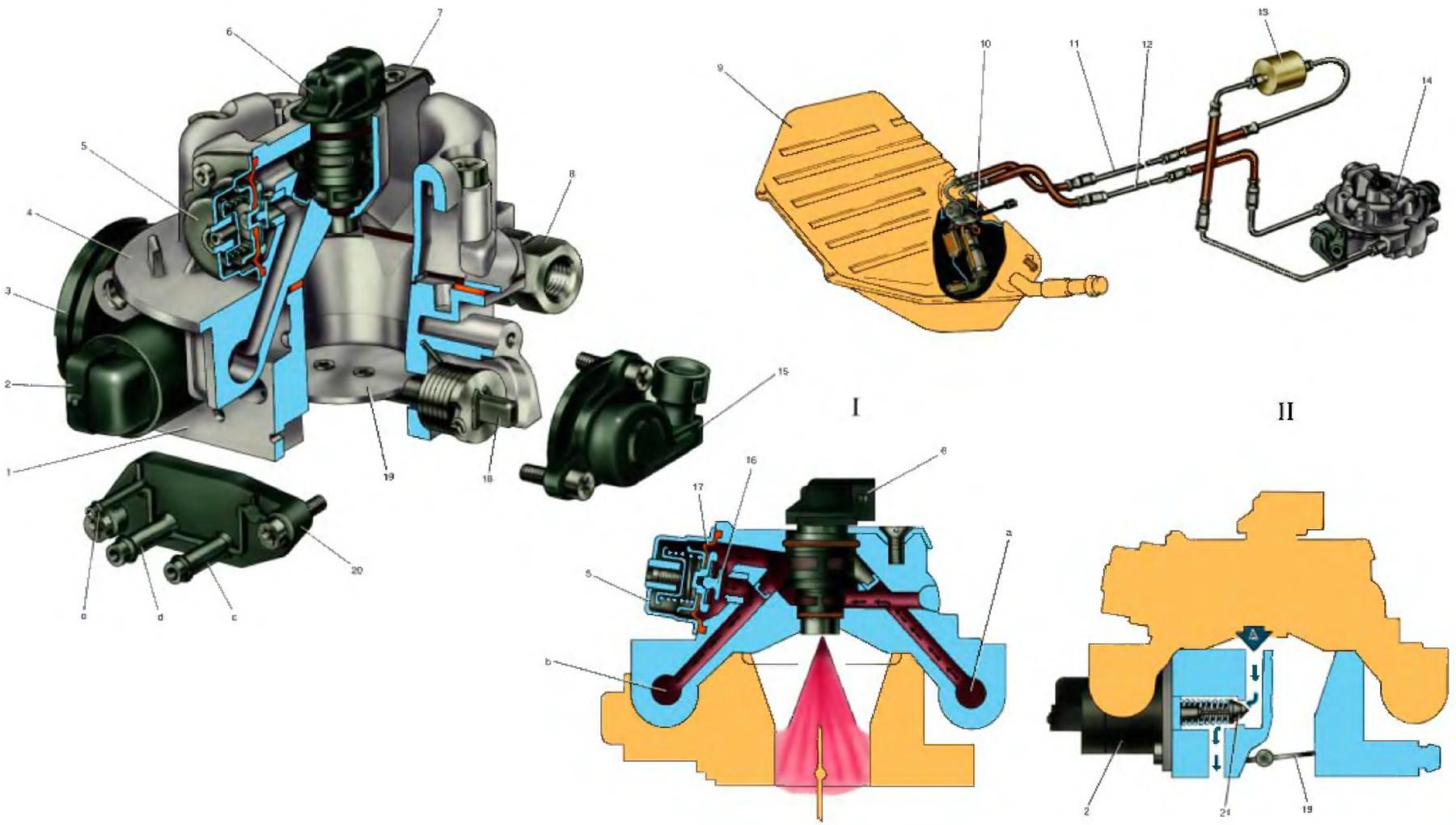 Схема топливной системы ваз 21214 фото 515