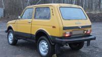 ВАЗ-2121, вид сзади